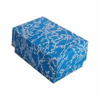 Dárková krabička modrá 60x40x30 mm