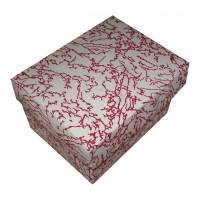 Dárková krabička červená 90x70x60 mm