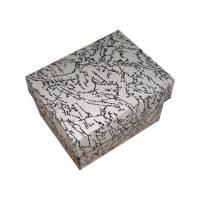 Dárková krabička černá 90x70x60 mm