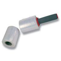 Fixační smršťovací (stretchová) fólie ruční 10 cm, 23 mikronů granát