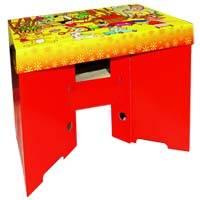 Kartonový dětský stoleček