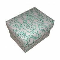 Dárková krabička zelená 90x70x60 mm