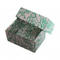 zelená skládací krabička dno-víčko s vložkou 110x65x50 mm